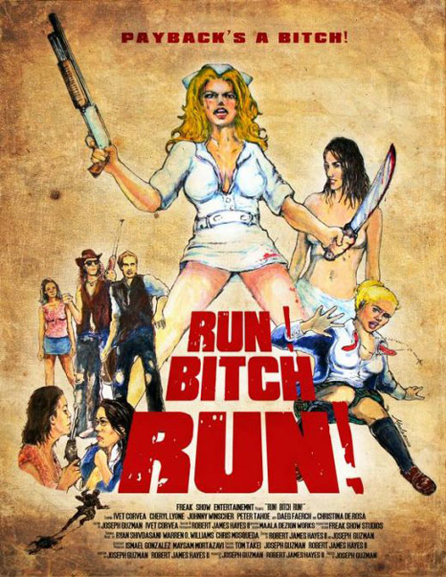 Unknown poster from the movie Run! Bitch Run!