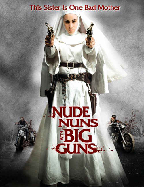 Unknown poster from the movie Nude Nuns with Big Guns