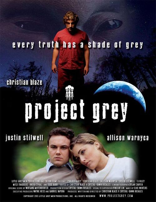 Affiche canadienne de 'Project Grey'