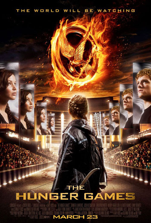 Us poster from the movie The Hunger Games