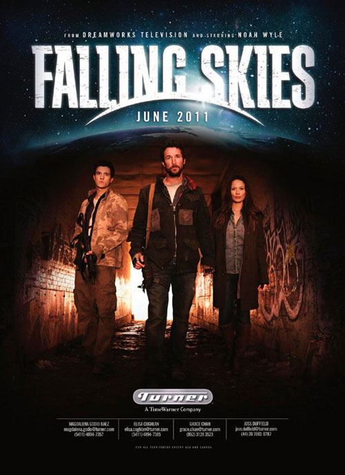 Unknown poster from the series Falling Skies