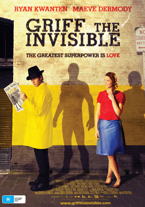 Affiche américaine de 'Griff the Invisible'