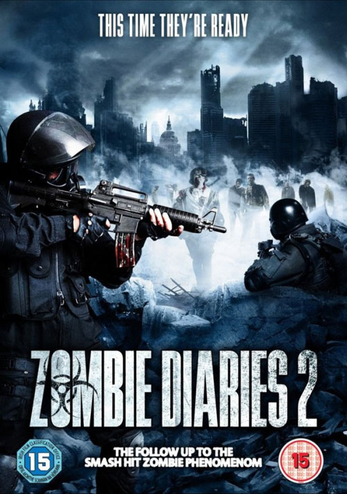British artwork from the movie World of the Dead: The Zombie Diaries