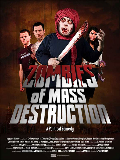 Us poster from the movie ZMD: Zombies of Mass Destruction