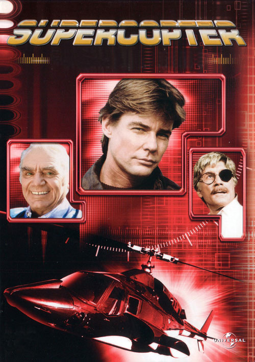 French artwork from the series Airwolf
