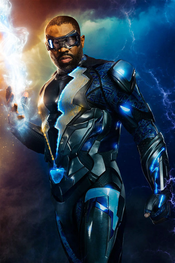 Visuel international du téléfilm Black Lightning