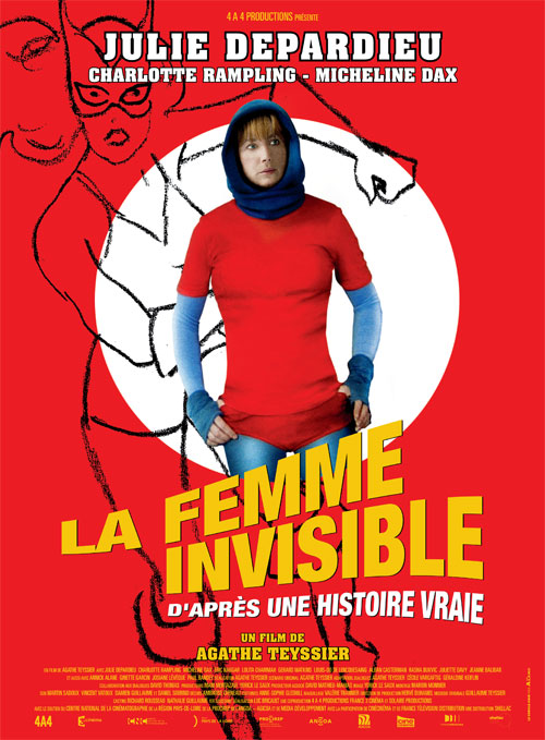 French poster from the movie The Invisible Woman (La femme invisible, d'après une histoire vraie)