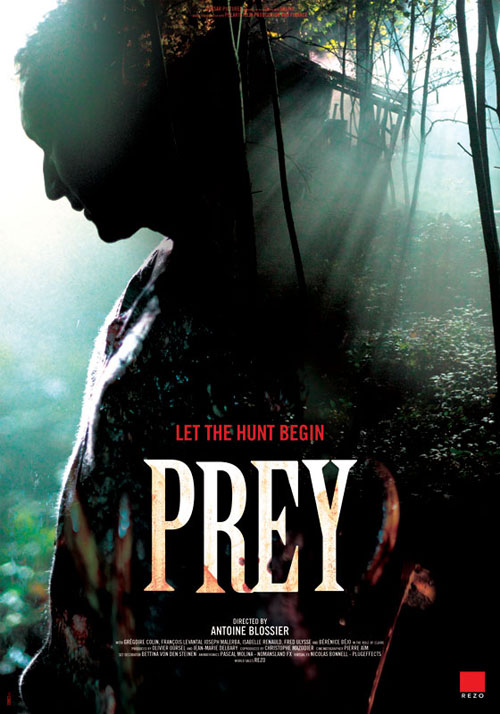 Us poster from the movie Prey (La traque)