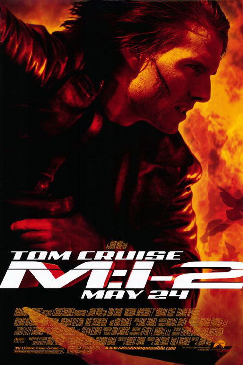 Affiche américaine de 'M-I:2 Mission : impossible 2'