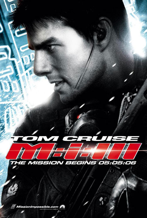 Us poster from the movie Mission: Impossible III