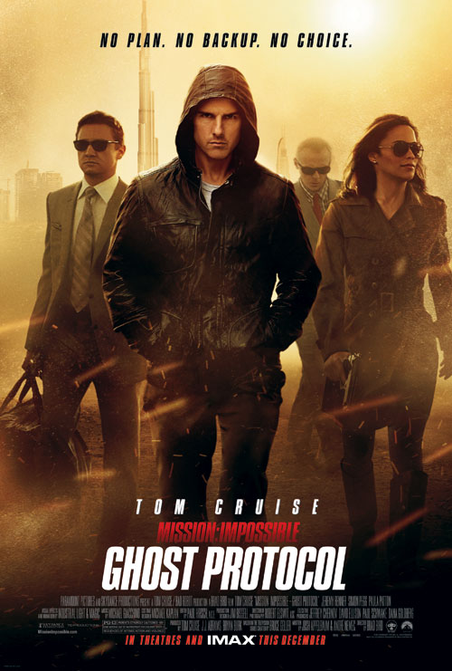 Us poster from the movie Mission: Impossible - Ghost Protocol
