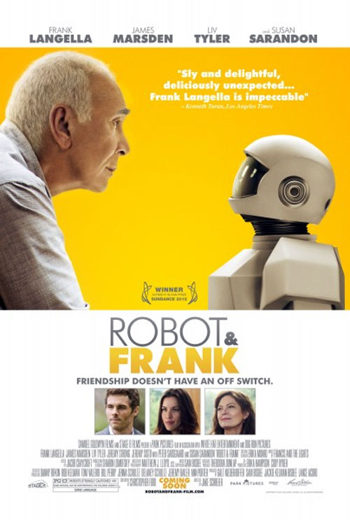 Us poster from the movie Robot and Frank