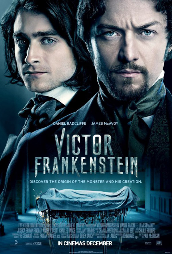 Us poster from the movie Victor Frankenstein