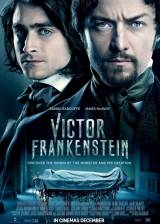 Movie poster from Victor Frankenstein, in theaters on November 25, 2015