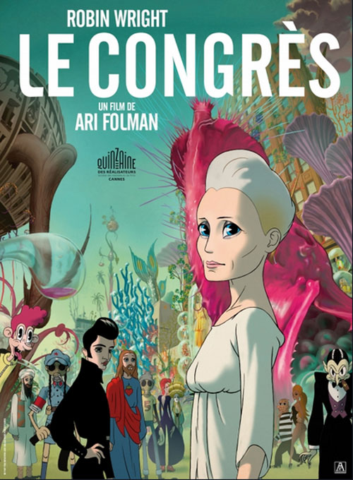 French poster from the movie The Congress