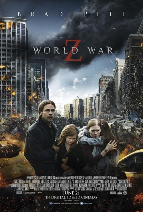 Us poster from the movie World War Z