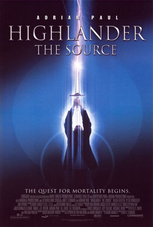 Us poster from the movie Highlander: The Source