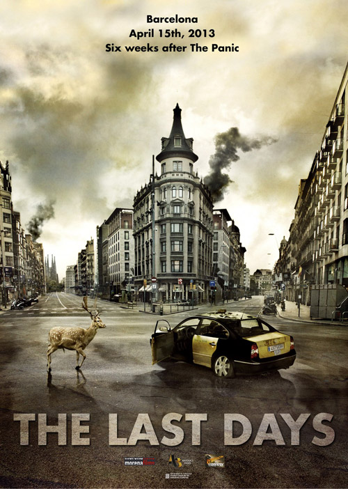 Unknown poster from the movie The Last Days (Los últimos días)