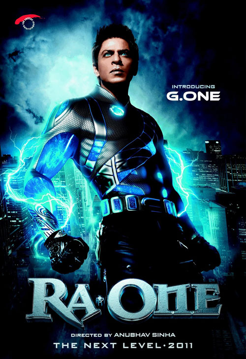 Affiche inconnue du film Voltage (Ra. One)