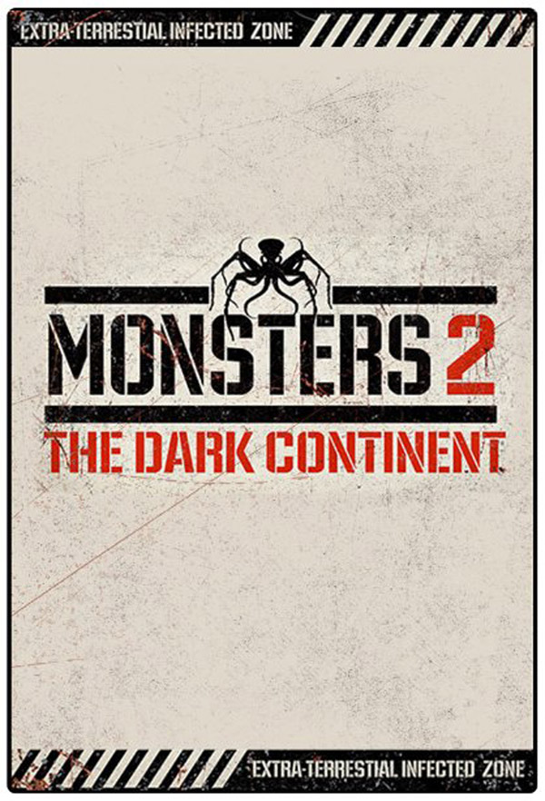 British poster from the movie Monsters: The Dark Continent (Monsters: Dark Continent)