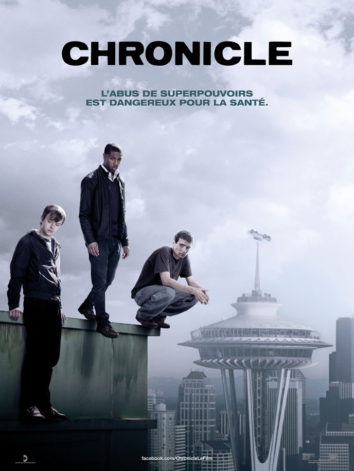 Affiche française de 'Chronicle'