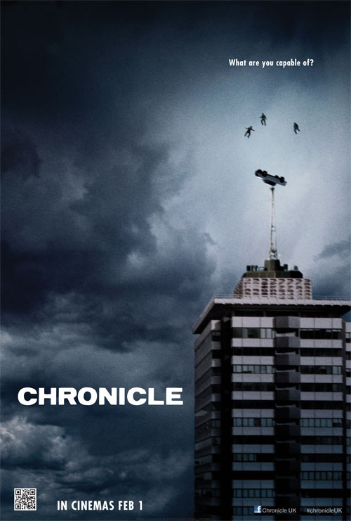 British poster from the movie Chronicle