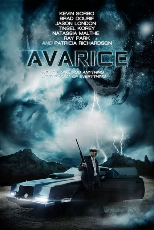 Canadian poster from the movie Avarice