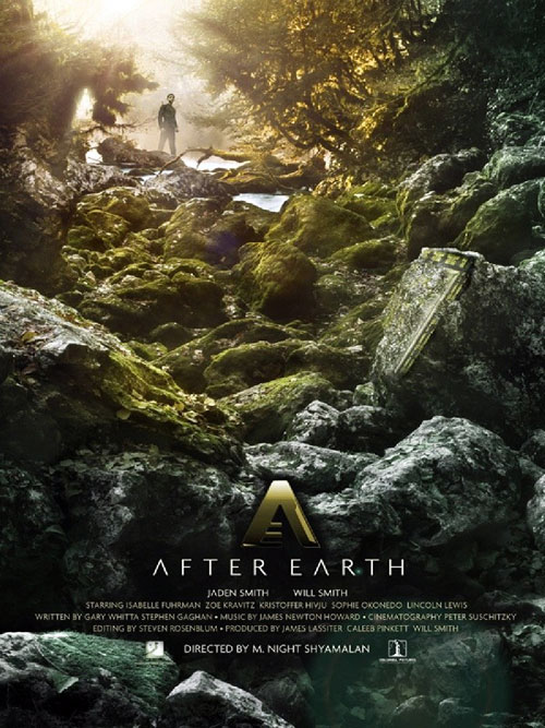 Affiche américaine de 'After Earth'