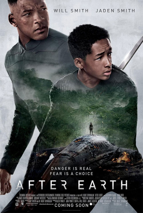 Us poster from the movie After Earth