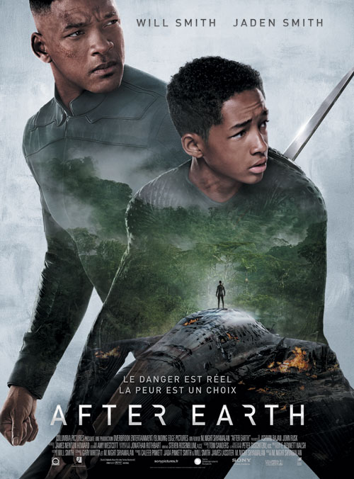 Affiche française de 'After Earth'