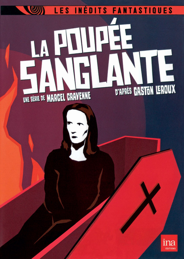 French poster from the series La poupée sanglante