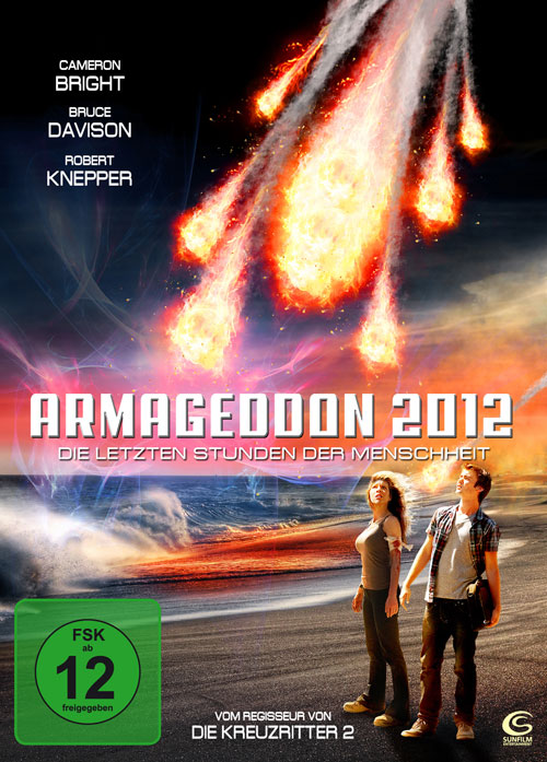 German artwork from the movie Armageddon 2012