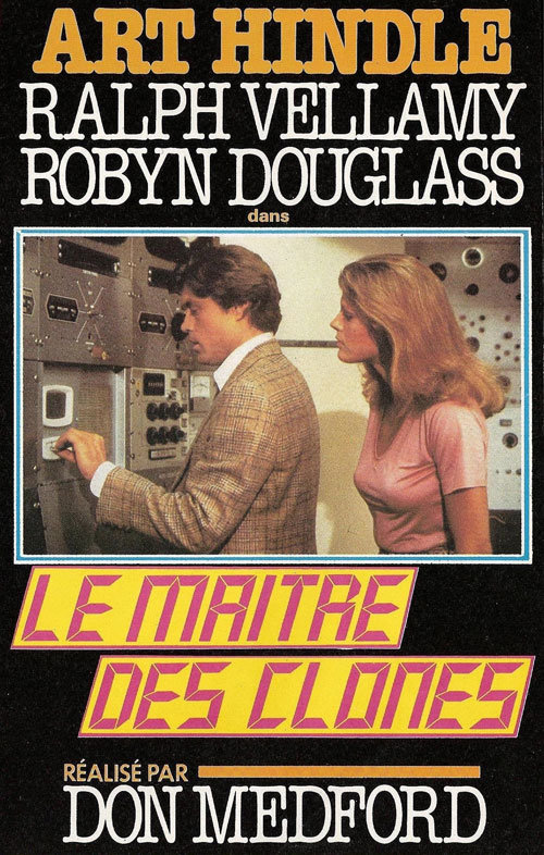 French artwork from the TV movie The Clone Master