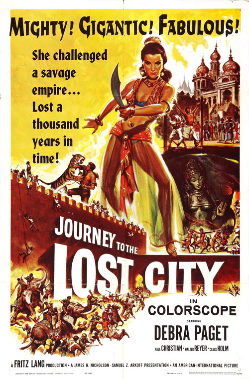 Us poster from the movie Journey to the Lost City