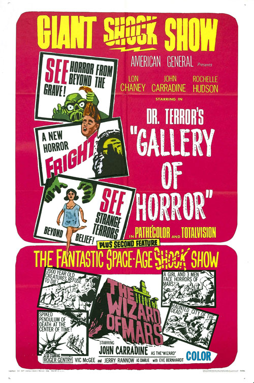 Us poster from the movie Dr. Terror's Gallery of Horrors