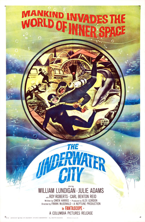 Us poster from the movie The Underwater City