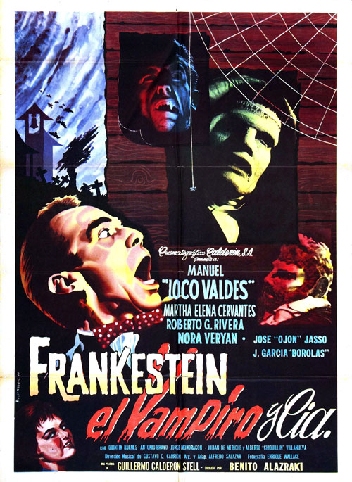 Unknown poster from the movie Frankenstein, the Vampire and Co (Frankestein el vampiro y compañía)