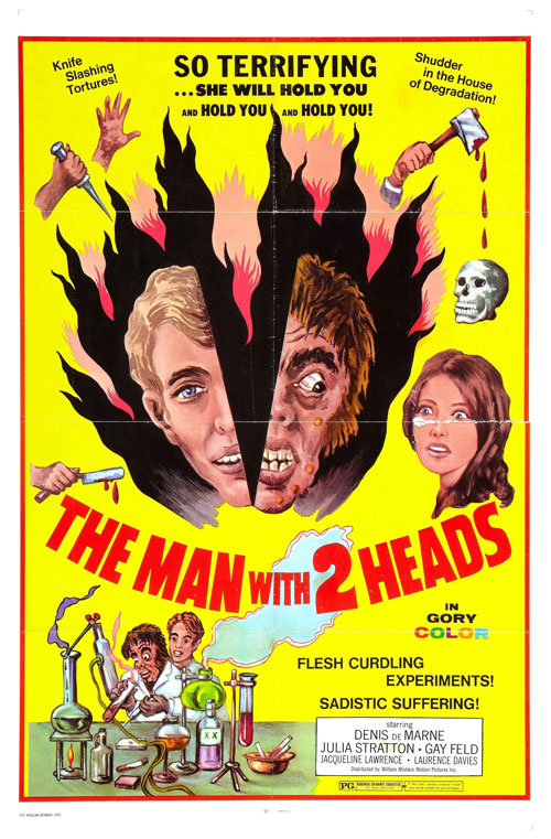 Us poster from the movie The Man with Two Heads