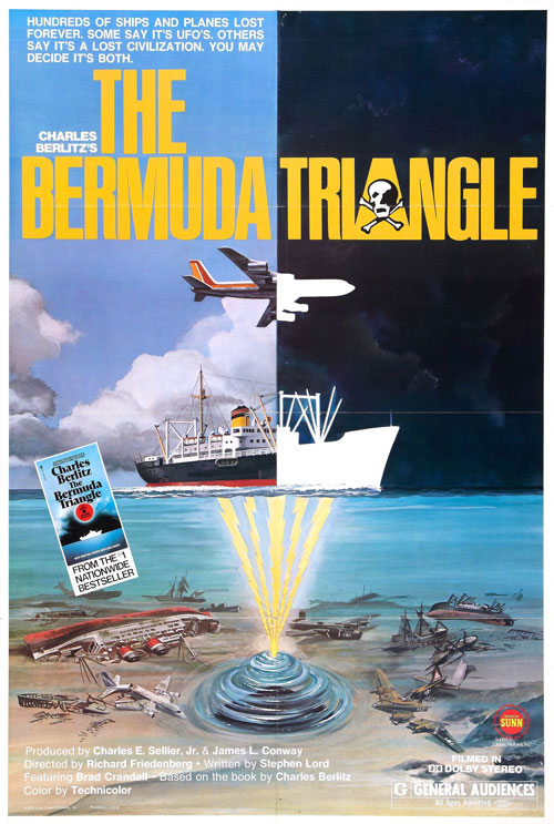 Us poster from the movie The Bermuda Triangle