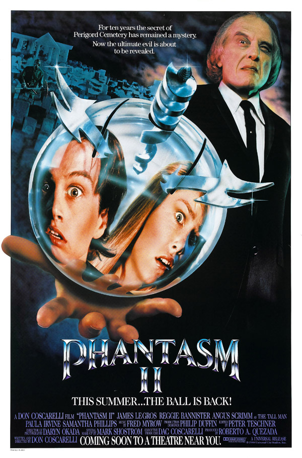 Us poster from the movie Phantasm II