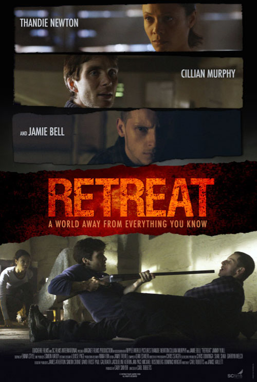 Us poster from the movie Retreat