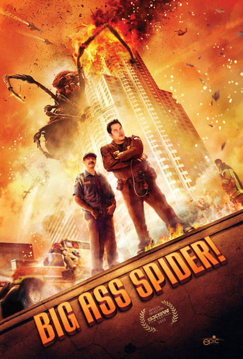 Us poster from the movie Big Ass Spider