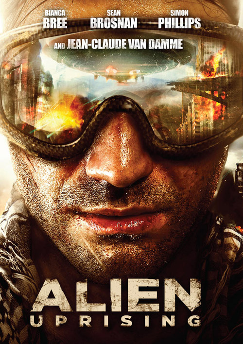 Us poster from the movie Alien Uprising