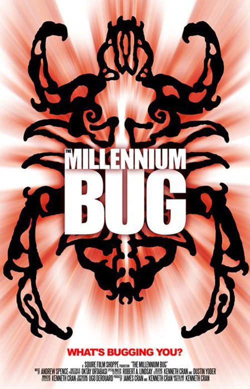 Affiche américaine de 'The Millennium Bug'