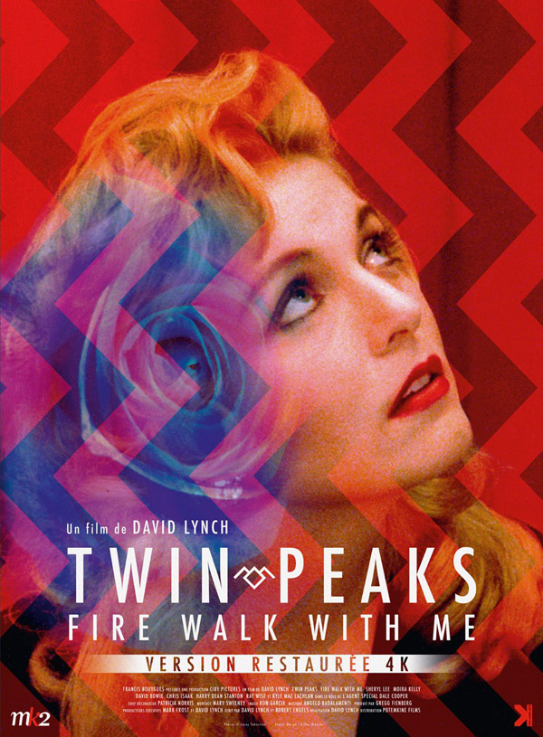 French poster from the movie Twin Peaks: Fire Walk with Me