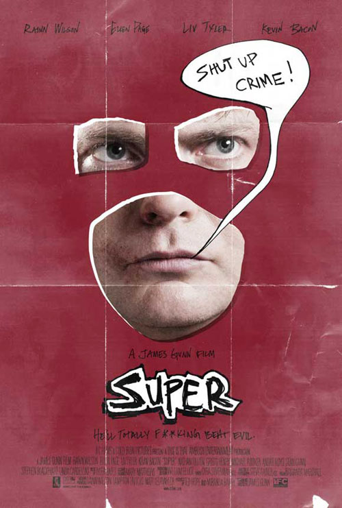 Us poster from the movie SUPER