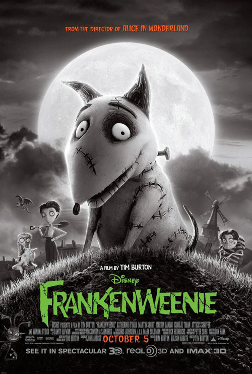 Us poster from the movie Frankenweenie