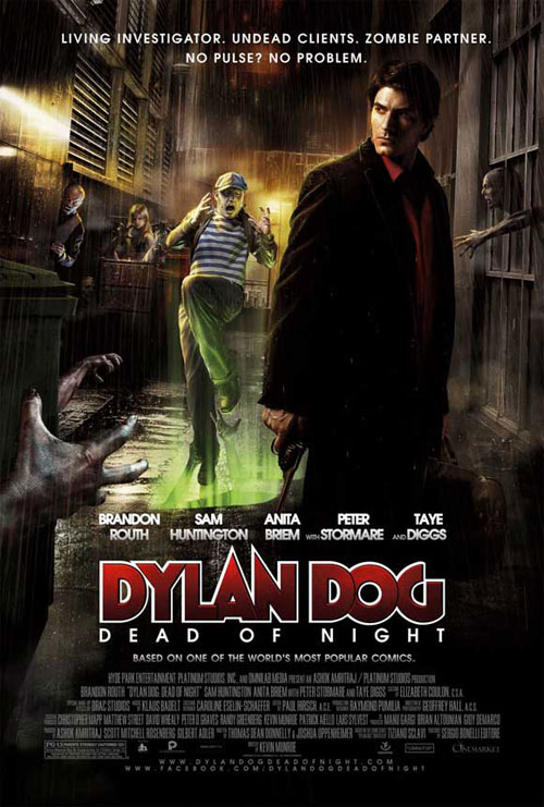 Us poster from the movie Dylan Dog: Dead of Night