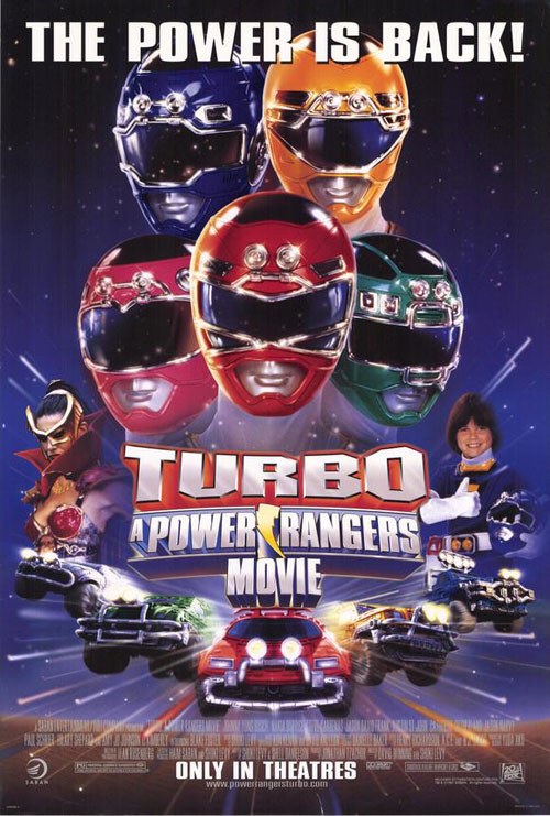 Us poster from the movie Turbo: A Power Rangers Movie