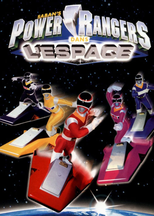 Power Rangers in Space (1998) movie poster #1 - SciFi-Movies